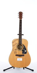 Musical Instruments:Acoustic Guitars, Circa 1995 Fender DG6 New Old Stock Autographed Natural AcousticGuitar #20203524...