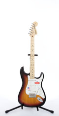 Musical Instruments:Electric Guitars, 2006 Fender USA Stratocaster Highway 1 New Old Stock Sunburst Electric Guitar #Z6167278...