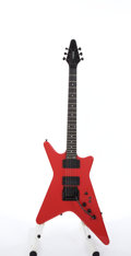 Musical Instruments:Electric Guitars, 1989 CARVIN V220T Pearl Red Electric Guitar #23940...