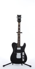 Musical Instruments:Electric Guitars, 1970's AMPEG Heavy Stud Black Electric Guitar #NA...