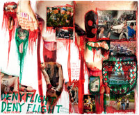 THOMAS HIRSCHHORN (Swiss, b. 1957) From the Series: Utopia Utopia = One World One War One Army One Dress: Deny