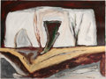 Post-War & Contemporary:Contemporary, WILLIAM LUMPKINS (American, 1909-2000). Untitled, 1988.Acrylic on Strathmore paper. 30 x 40 inches (76.2 x 101.6 cm). S...