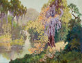 Texas:Early Texas Art - Regionalists, PETER LANZ HOHNSTEDT (American, 1872-1957). Meadow Brook.Oil on canvas. 22 x 28 inches (55.9 x 71.1 cm). Signed lower r...