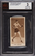 """Boxing Cards:General, 1929 Godfrey Phillips """"Sporting Champions"""" Jack Dempsey #15 BGS VG 3...."""