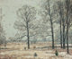 JOHN FABIAN CARLSON (Swedish/American, 1874-1945) Winter Hickories Oil on canvas 25 x 30 inches (63.5 x 76.2 cm) Sig