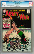 Silver Age (1956-1969):War, Our Army at War #146 Savannah pedigree (DC, 1964) CGC NM- 9.2 Cream to off-white pages....