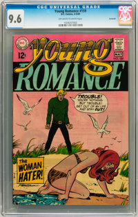 Young Romance #159 Savannah pedigree (DC, 1969) CGC NM+ 9.6 Off-white to white pages