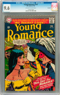 Silver Age (1956-1969):Romance, Young Romance #142 Savannah pedigree (DC, 1966) CGC NM+ 9.6 Off-white to white pages....
