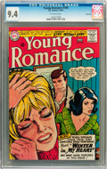 Silver Age (1956-1969):Romance, Young Romance #140 Savannah pedigree (DC, 1966) CGC NM 9.4Off-white pages....