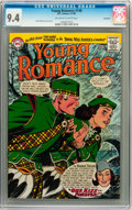 Silver Age (1956-1969):Romance, Young Romance #136 Savannah pedigree (DC, 1965) CGC NM 9.4Off-white to white pages....