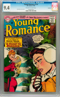 Silver Age (1956-1969):Romance, Young Romance #134 Savannah pedigree (DC, 1965) CGC NM 9.4Off-white to white pages....