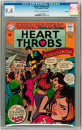 Silver Age (1956-1969):Romance, Heart Throbs #98 Savannah pedigree (DC, 1965) CGC NM 9.4 Cream tooff-white pages....