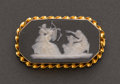 Estate Jewelry:Cameos, English Gold Wedgewood Cameo. ...