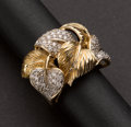 Estate Jewelry:Rings, Diamond & 14k Gold Ladies Ring. ...
