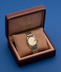 Timepieces:Wristwatch, Tudor Prince Date Two-Tone Gents Automatic Wristwatch. ...