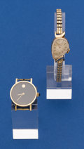 Timepieces:Wristwatch, Two - Ladies 14k Gold Wristwatches. ... (Total: 2 Items)
