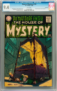 House of Mystery #178 Savannah pedigree (DC, 1969) CGC NM 9.4 White pages