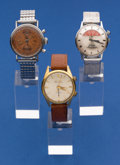 Timepieces:Wristwatch, Three - Unusual Wristwatches For Repair. ... (Total: 3 Items)