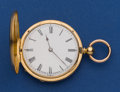 Timepieces:Pocket (pre 1900) , Etier & Lacroix 38 mm 18k Gold Key Wind Pocket Watch. ...
