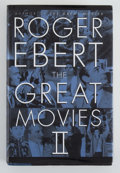 Books:First Editions, Roger Ebert. INSCRIBED. The Great Movies II. New York:Broadway Books, [2005]. First edition, first printing. Insc...