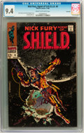Silver Age (1956-1969):Superhero, Nick Fury, Agent of S.H.I.E.L.D. #6 Savannah pedigree (Marvel, 1968) CGC NM 9.4 Cream to off-white pages....