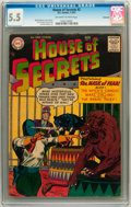 Silver Age (1956-1969):Horror, House of Secrets #2 Savannah pedigree (DC, 1957) CGC FN- 5.5Off-white to white pages....
