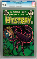 Bronze Age (1970-1979):Horror, House of Mystery #220 Savannah pedigree (DC, 1973) CGC NM 9.4Off-white to white pages....