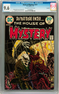 Bronze Age (1970-1979):Horror, House of Mystery #221 Savannah pedigree (DC, 1974) CGC NM+ 9.6Off-white to white pages....