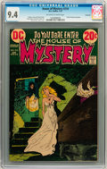 Bronze Age (1970-1979):Horror, House of Mystery #210 Savannah pedigree (DC, 1973) CGC NM 9.4Off-white to white pages....