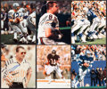 Football Collectibles:Photos, Football Hall of Famers Signed Photographs Lot of 6 - With Walter Payton Example!. ...