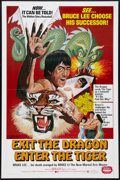 """Movie Posters:Action, Exit the Dragon, Enter the Tiger (Dimension, 1976). One Sheet (27"""" X 41""""). Action.. ..."""