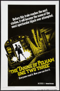 "Movie Posters:Crime, The Taking of Pelham One Two Three (United Artists, 1974). OneSheet (27"" X 41"") Flat Folded Advance. Crime.. ..."