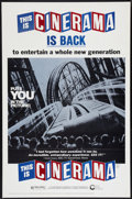 """Movie Posters:Documentary, This is Cinerama (Cinerama Releasing, R-1973). One Sheet (27"""" X 41"""") Flat Folded. Documentary.. ..."""