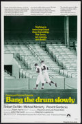 "Movie Posters:Sports, Bang the Drum Slowly (Paramount, 1973). One Sheet (27"" X 41"") Flat Folded. Sports.. ..."