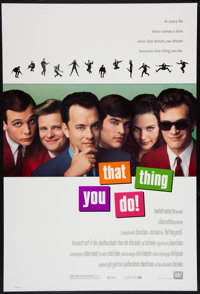 """That Thing You Do! (20th Century Fox, 1996). One Sheet (27"""" X 41"""") DS. Rock and Roll"""