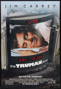 """Movie Posters:Science Fiction, The Truman Show Lot (Paramount, 1998). One Sheets (3) (27"""" X 40"""") DS Advance and Regular. Science Fiction.. ... (Total: 3 Items)"""
