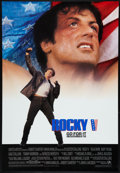 "Movie Posters:Sports, Rocky V & Other Lot (MGM/UA, 1990). One Sheets (4) (27"" X 40"" & 27"" X 41"") SS & DS, Regular & Advance. Sports.. ... (Total: 4 Items)"