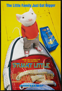 "Stuart Little (Columbia, 1999). One Sheet (27"" X 40"") DS Advance. Children's"
