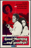 "Movie Posters:Sexploitation, Good Morning...and Goodbye! (Eve Productions, 1967). One Sheet (27""X 41"") and Uncut Pressbook (Multiple Pages, 8.75"" X 11"")... (Total:2 Items)"