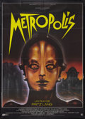 "Movie Posters:Science Fiction, Metropolis (PSO, R-1984). French Grande (47"" X 63""). ScienceFiction.. ..."