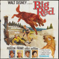 "Movie Posters:Adventure, Big Red Lot (Buena Vista, 1962). Six Sheets (2) (81"" X 81"").Adventure.. ... (Total: 2 Items)"