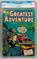 Golden Age (1938-1955):Horror, My Greatest Adventure #1 (DC, 1955) CGC GD/VG 3.0 Off-white towhite pages....