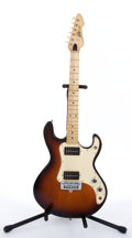 Musical Instruments:Electric Guitars, Peavey T-15 Sunburst Electric Guitar With Amp Case #01088474....