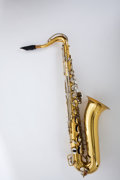 Musical Instruments:Horns & Wind Instruments, 1950's Selmer Bundy Tenor Saxophone #637149....