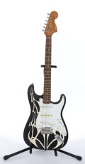 Musical Instruments:Electric Guitars, Fender Stratocaster Black Electric Guitar # N/A....