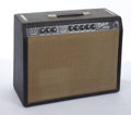 Musical Instruments:Amplifiers, PA, & Effects, Vintage Fender American Deluxe-Amp Black Amplifier #A02209....