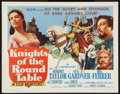 "Movie Posters:Adventure, Knights of the Round Table Lot (MGM, R-1962). Half Sheets (2) (22""X 28""). Adventure.. ... (Total: 2 Items)"