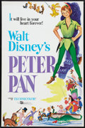 """Movie Posters:Animated, Peter Pan (Buena Vista, R-1976, R-1982, and R-1989). One Sheets (3)(27"""" X 41""""). Animated.. ... (Total: 3 Items)"""