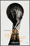 "Movie Posters:Sports, Love and Basketball (New Line, 2000). One Sheet (27"" X 40"") DS Advance. Sports.. ..."