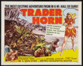 "Movie Posters:Adventure, Trader Horn Lot (MGM, R-1953). Half Sheets (2) (22"" X 28"") Style A.Adventure.. ... (Total: 2 Items)"